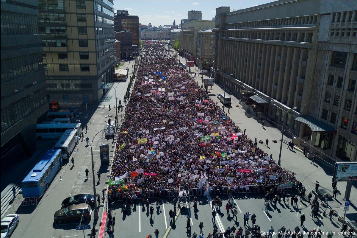 Митинг против реновации 14 05 2017