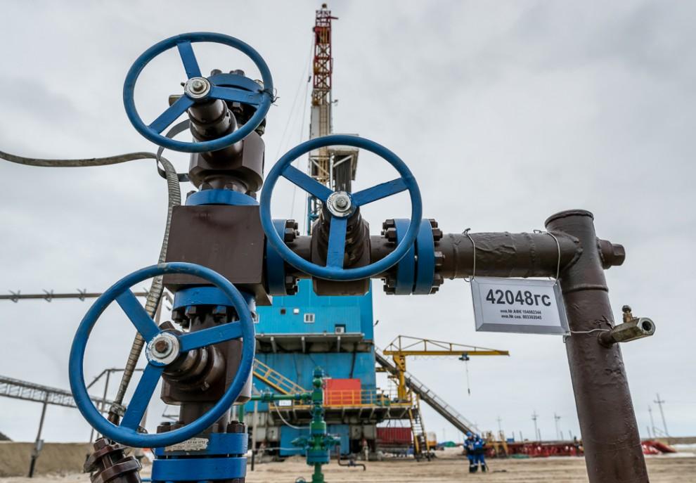 Куст №933. Стоит отъехать на 65 км от Ханты-Мансийска, как вы попадете в край добычи нефти. Южно-При