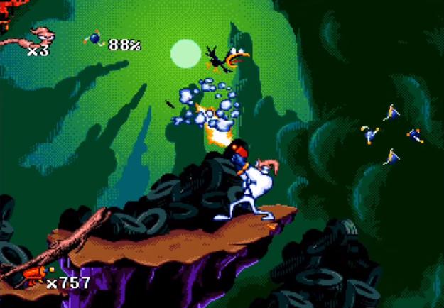 После игры Earthworm Jim мы стали совсем по-другому относиться к земляным червям.