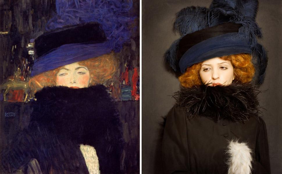 Классика живописи, воссозданная с помощью фотографии (13 фото)