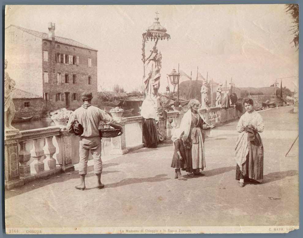 6. Вид на Библиотеку Марчиана, Кампанилу собора Святого Марка и Дворец Дожей с острова Сан-Джор