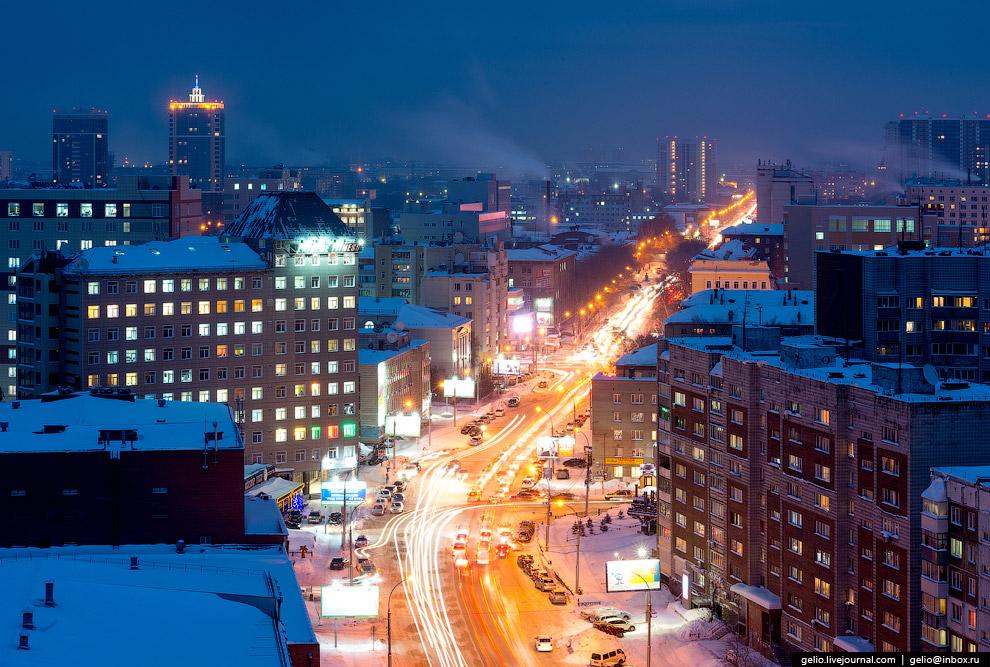57. Микрорайон Сухой лог с жилыми высотками (слева направо) «Эдельвейс», «Байрон», «Нельсон» и