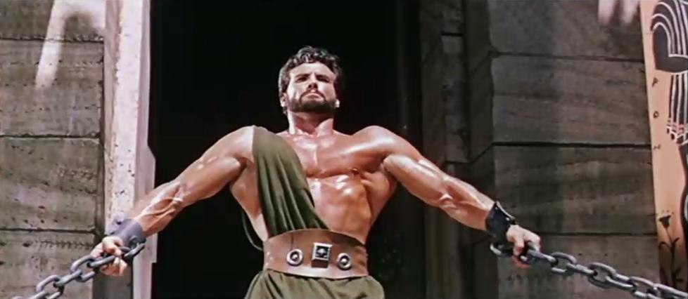 Стив Ривз в роли Геракла. В какой момент началось повальное увлечение советских парней культуризмом?
