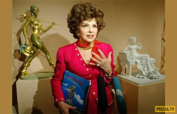 Джина Лоллобриджида и ее скульптуры. Лоллобриджида – мастер художественного фото Когда Джина не ваяе