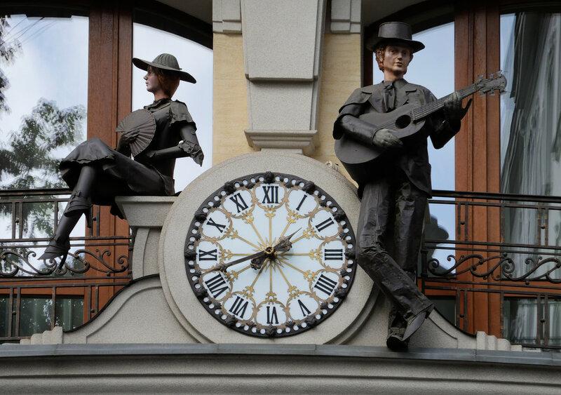 Романтические часы