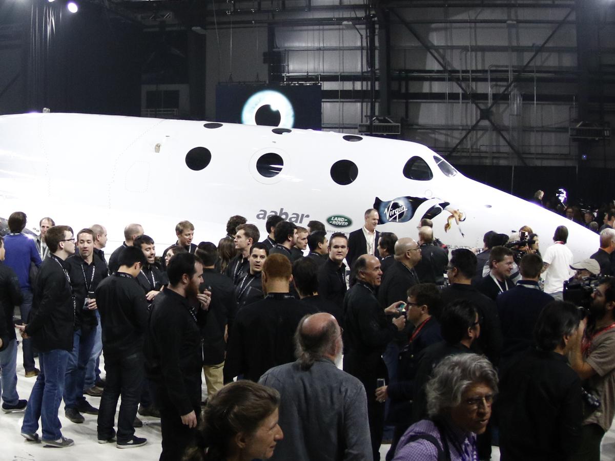 Virgin Galactic благополучно проверила новый космоплан VSS Unity