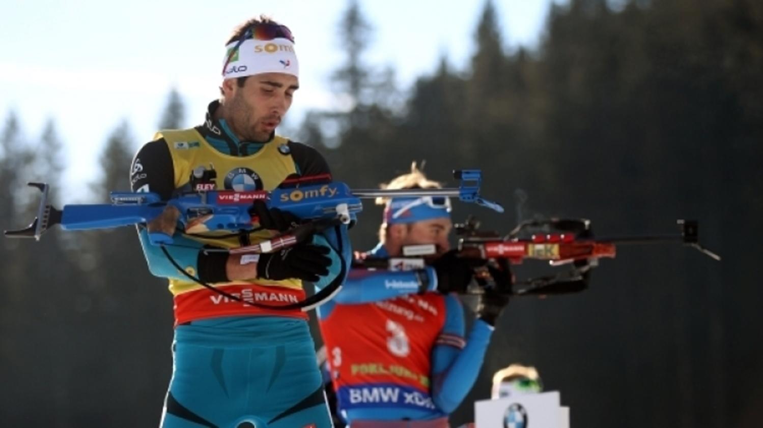 Эберхард одержал победу спринт этапа Кубка мира побиатлону вОберхофе