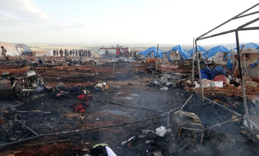 При ударе Б-52 США вСирии погибли около 20 мирных граждан