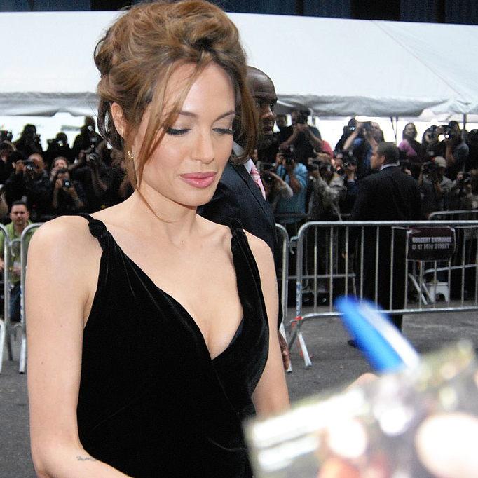 ВКамбоджи Анджелина Джоли кормила своих детей блюдами изместных насекомых