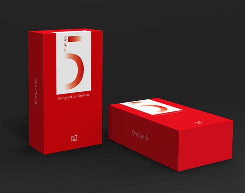 Коробка OnePlus 5 подтвердила характеристики девайса