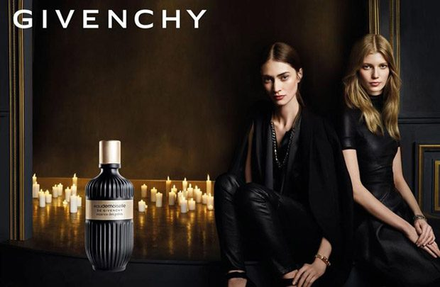Top models Marine Deleeuw and Saara Sihvonen star in Givenchy Eaudemoiselle Fragrance 2017 campaign