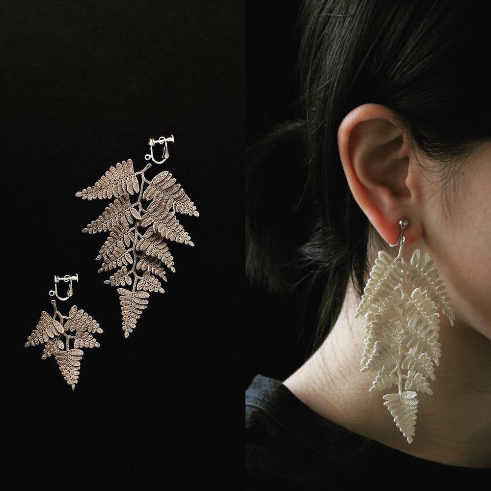 Crocheted Lace Jewelry Inspired by Organic Specimens