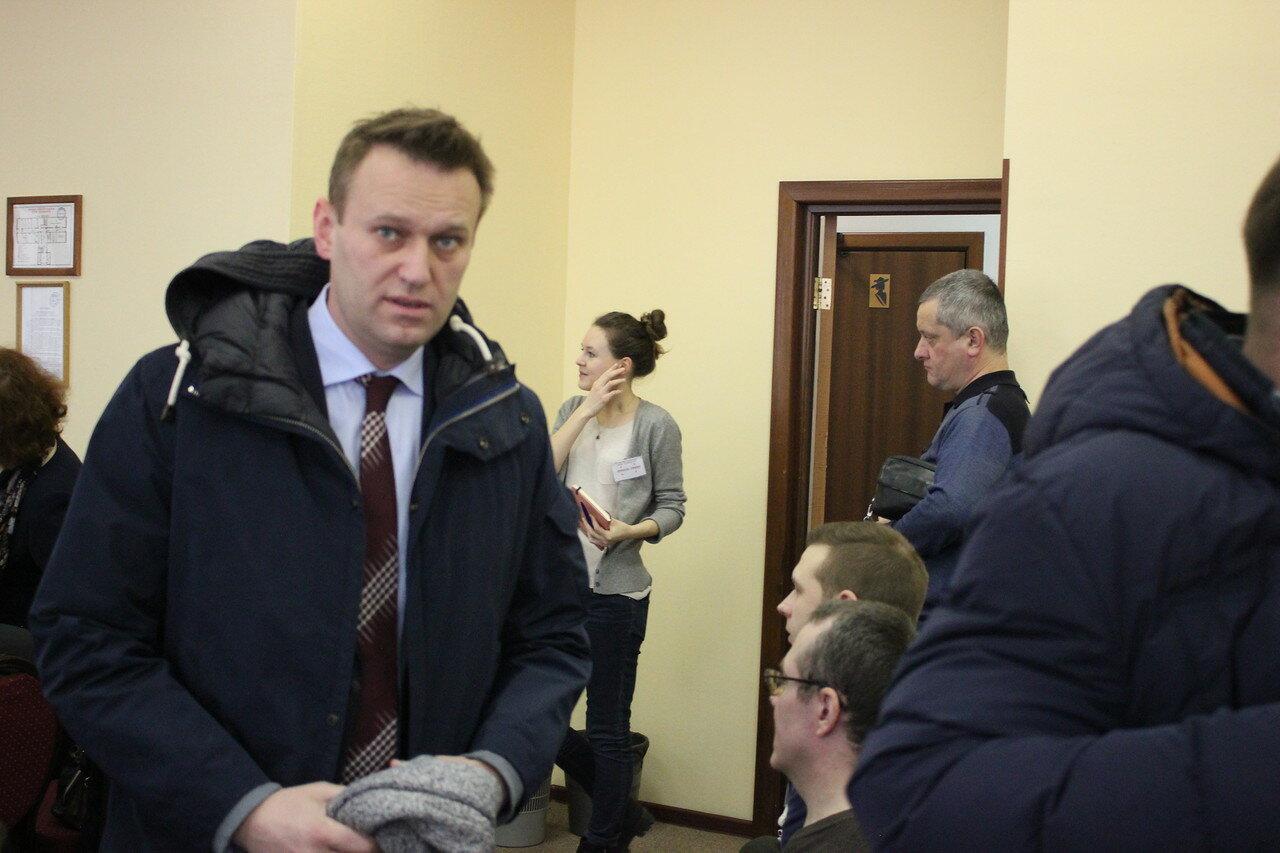 поддержка Алексея Навального на выборах президента 2018 года