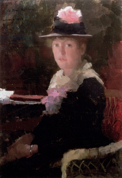 Portrait of Miss Gerda Rydberg, 1883 (oil on canvas)