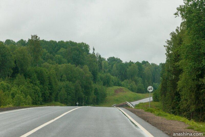 Пустынная дорога, трасса А-119