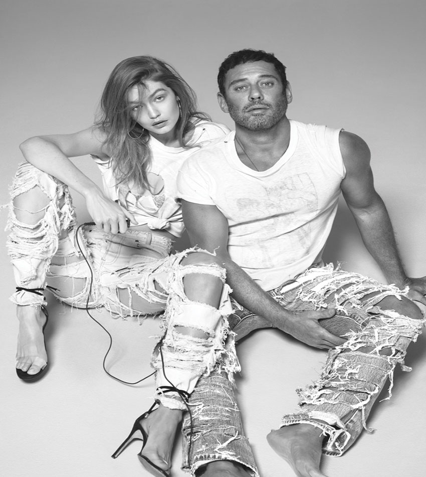 Gigi Hadid And Mert Alas For The Daily Front Row Hollywood Edition (Spring 2017)