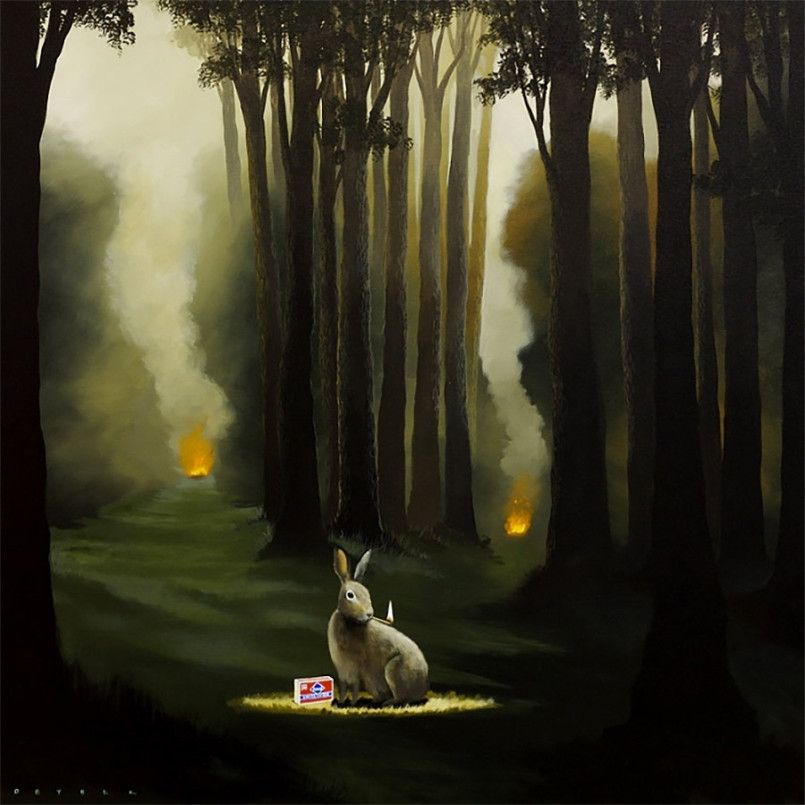 Literal Artworks by Robert Deyber