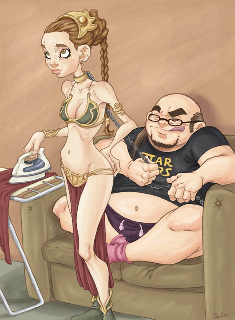 Flesh Market - Les illustrations trash et engagees de Luis Quiles