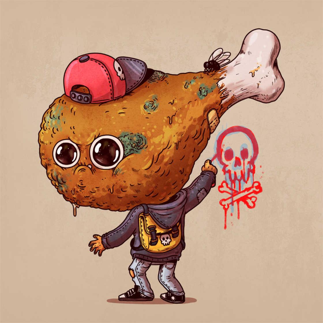 Rotten Foods - La junk food agressive d'Alex Solis