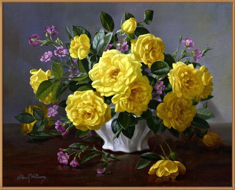 Розы в вазе (Roses in a vase)_39.5 х 49_х.,м._Частное собрание.jpg