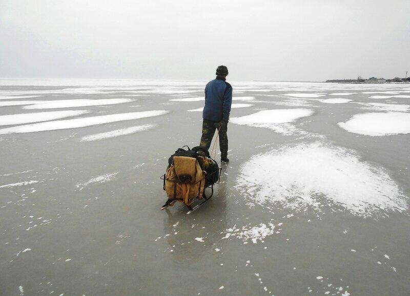 Лёд гладок ... Двигаемся ... DSCN1074.JPG