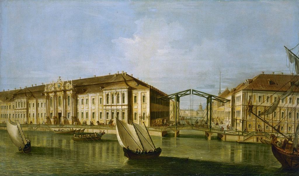 Второй дворец — Зимний дворец Петра I.jpg