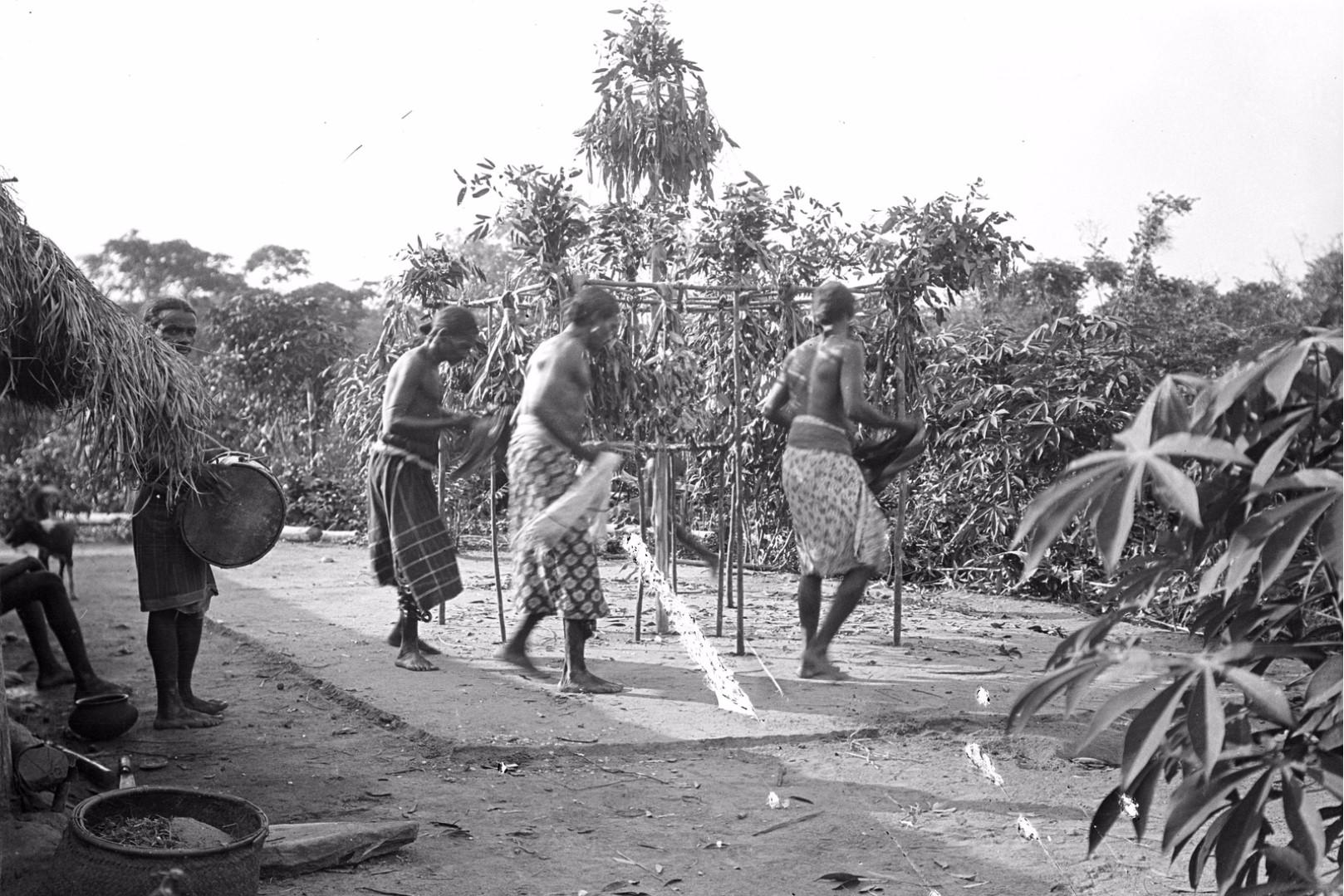 382. Мадугалла. Ритуальный танец лесных веддов