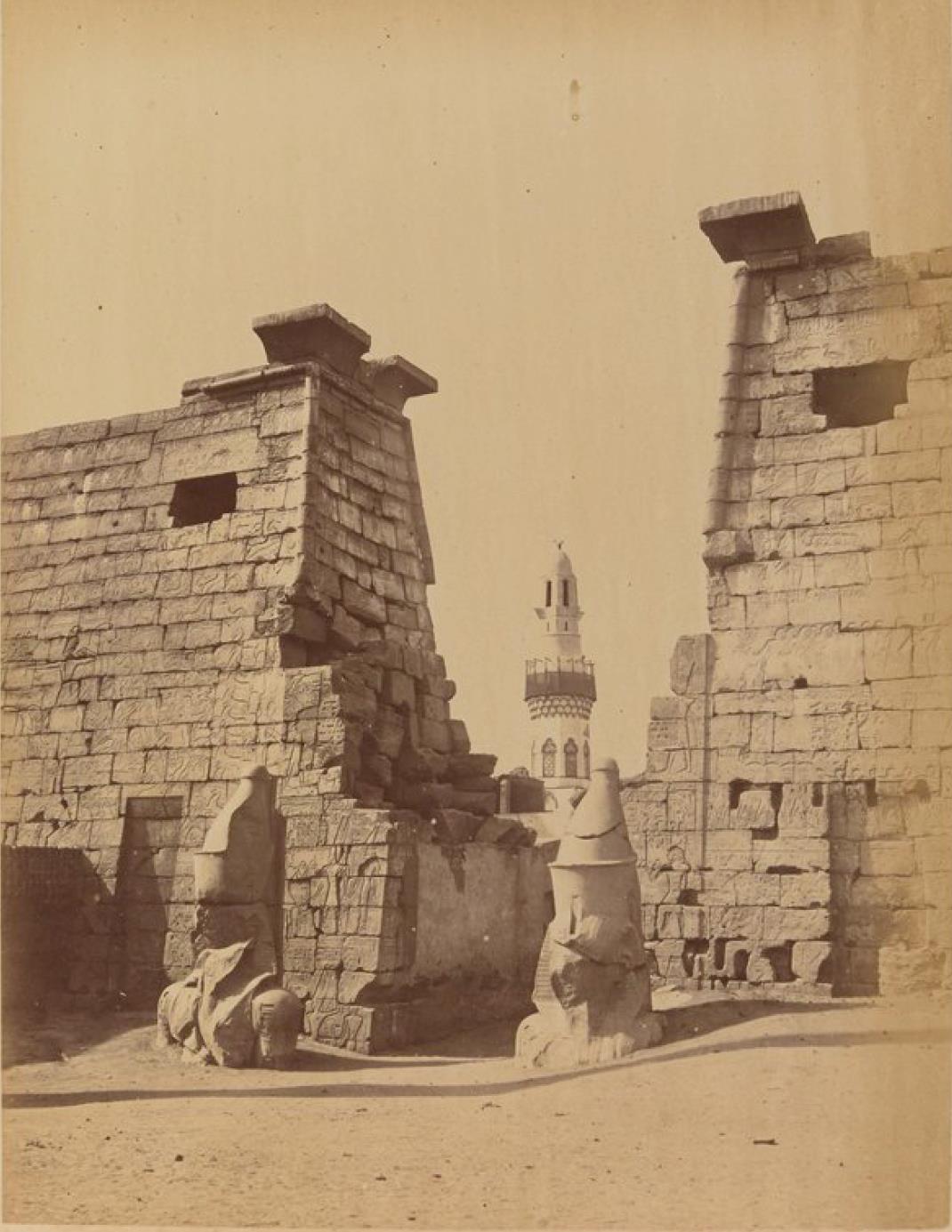 Луксор. Колоссы Великого Храма