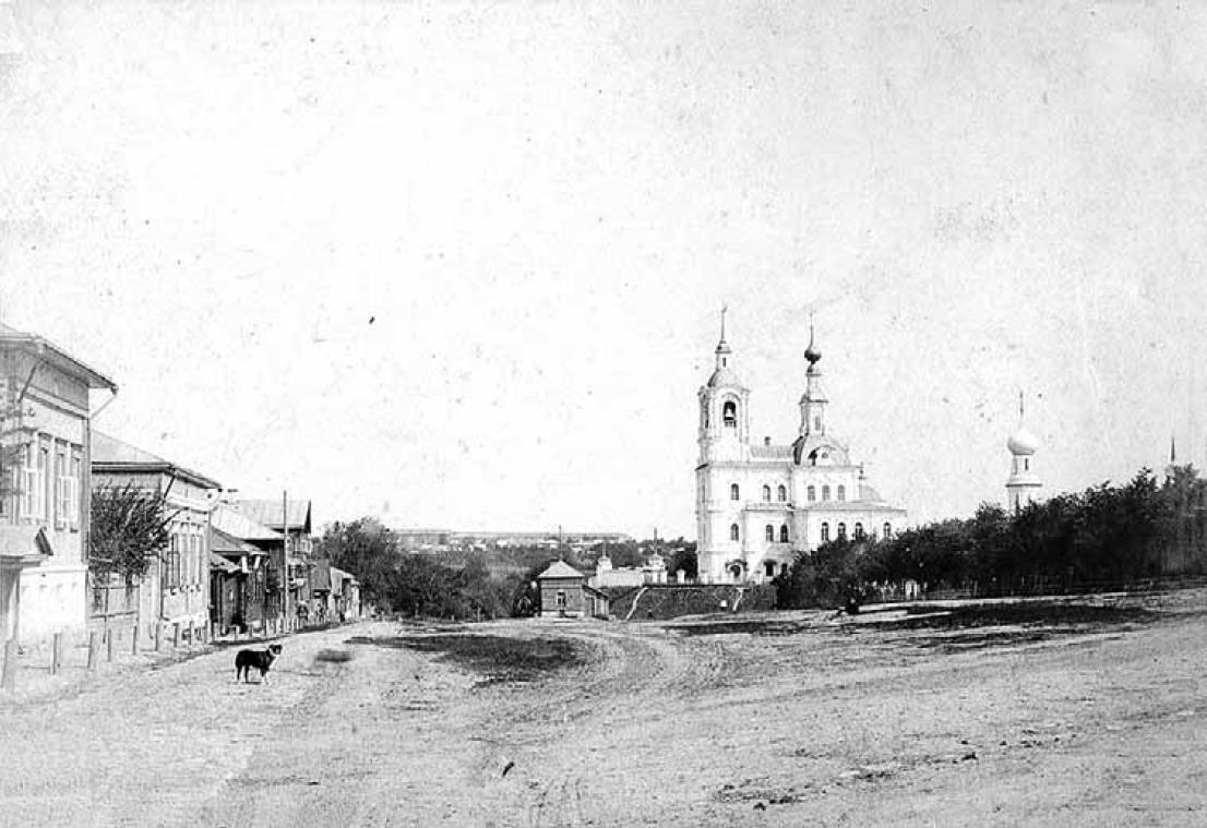 Никитская площадь. Вид с юга. Конец XIX в.