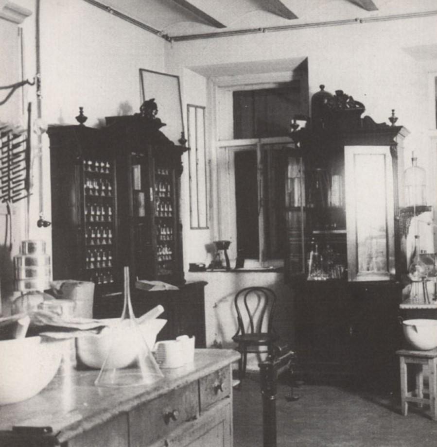 Лаборатория аптеки А.И.Бренинга