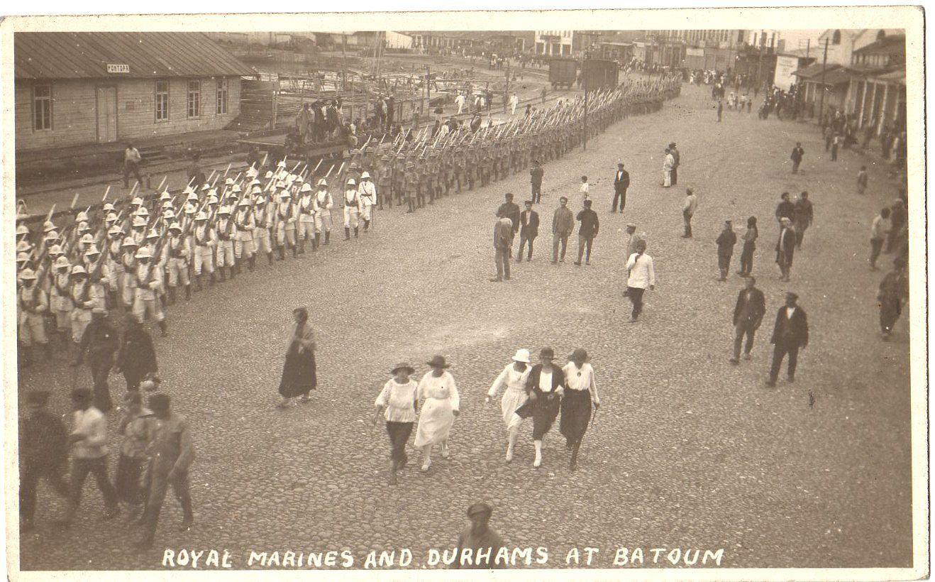 Королевская Морская пехота и Даремский полк легкой пехоты