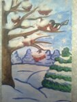 Шевчук Евгения (рук. Турдакова Татьяна Николаевна) - Зимний лес