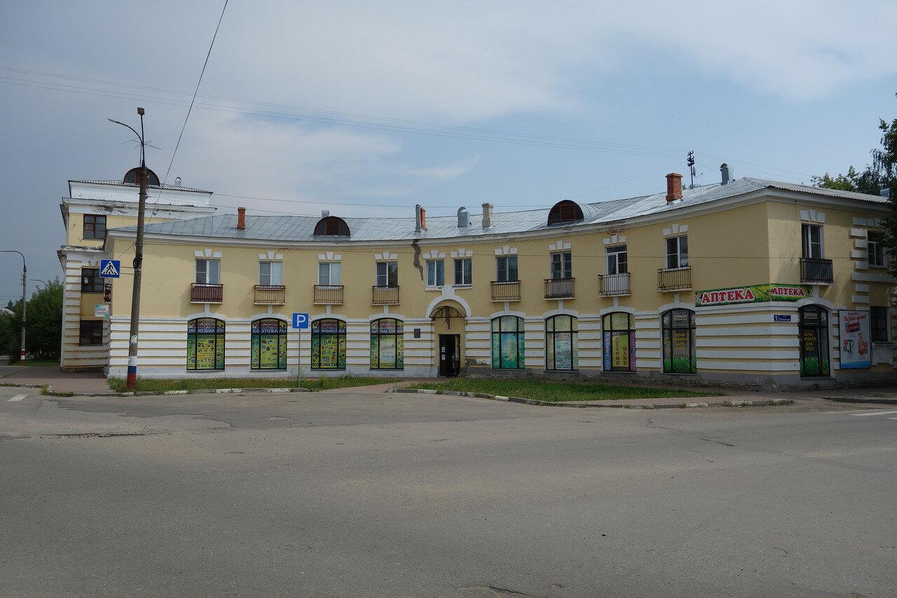 советские здания под старину