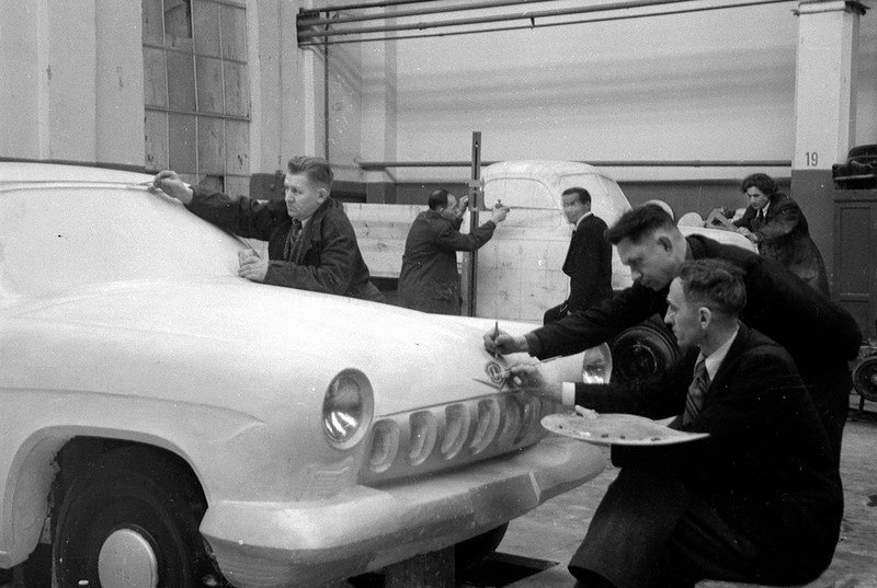 Макет первой Волги. Горьковский автозавод. 1954 год.jpg