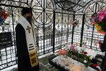 8 марта. Лития на кладбище