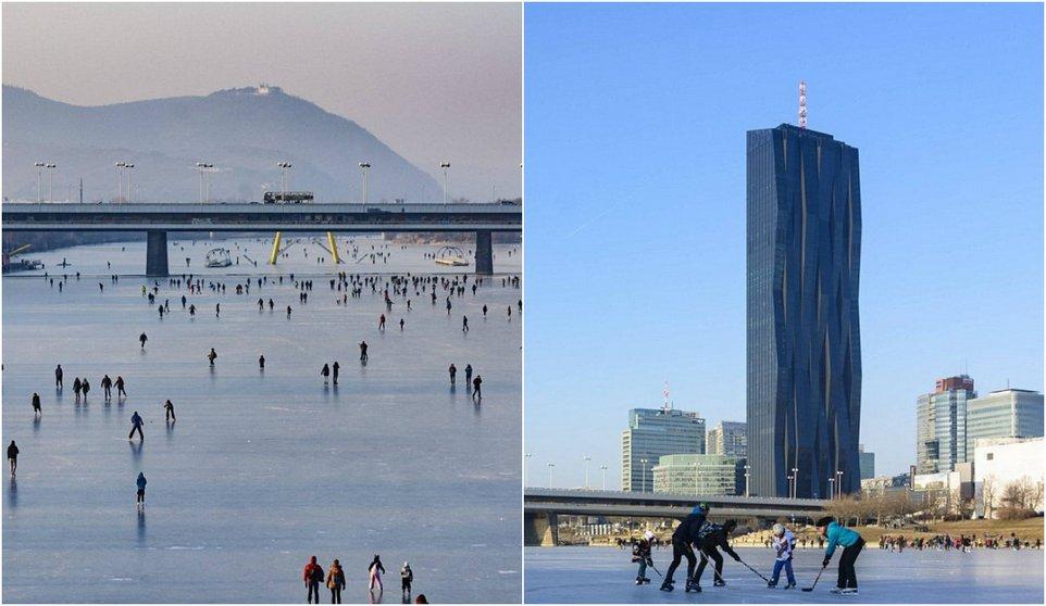 Второй раз за 30 лет замерз Дунай