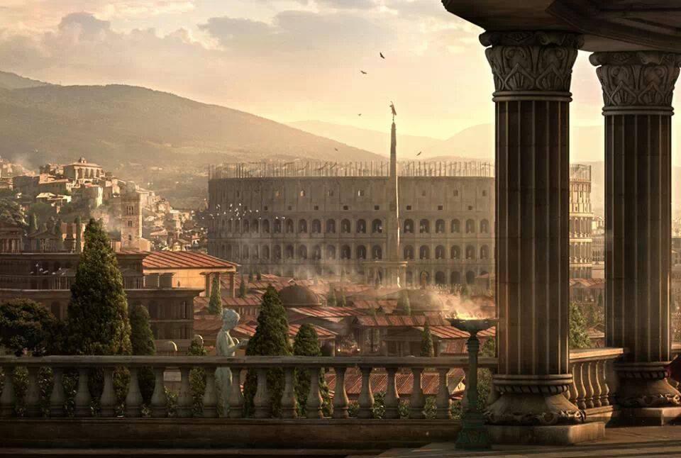 Римский Колизей (амфитеатр Флавиев)