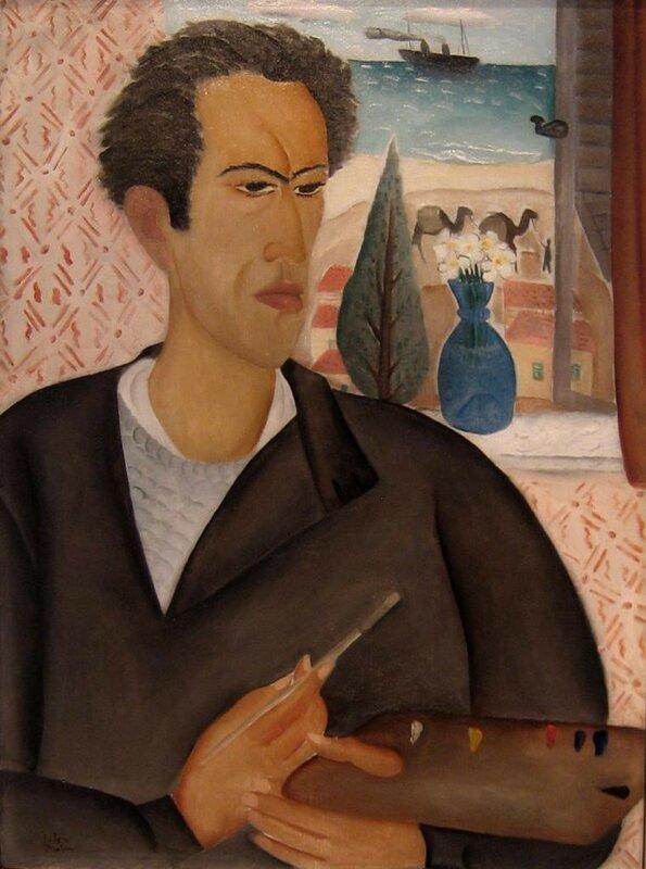 Реувен Рубин автопортрет, 1924