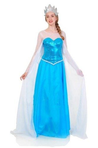 Женский карнавальный костюм Эльза из Холодного сердца