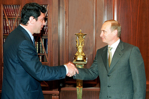 Немцов-Путин