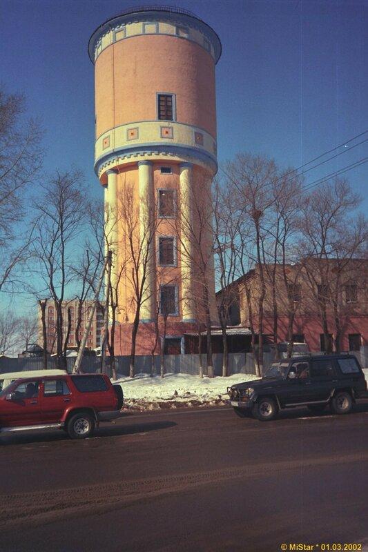 Водонапорная башня в Хабаровске