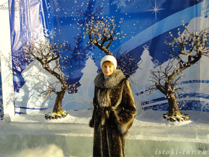 Зимний городок. Фотолента