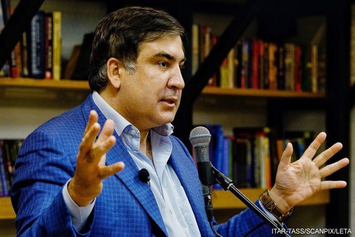Саакашвили вывели изсебя обвинением всвязях сПутиным