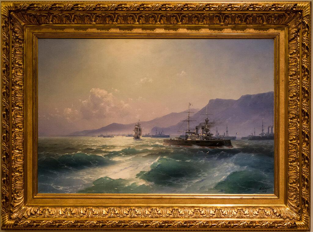 У острова Кандия (Крита). 1897