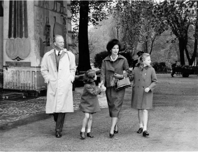 Лилиан, Леопольд, Мария Эсмеральда, Мария Кристина. 1960-е гг.