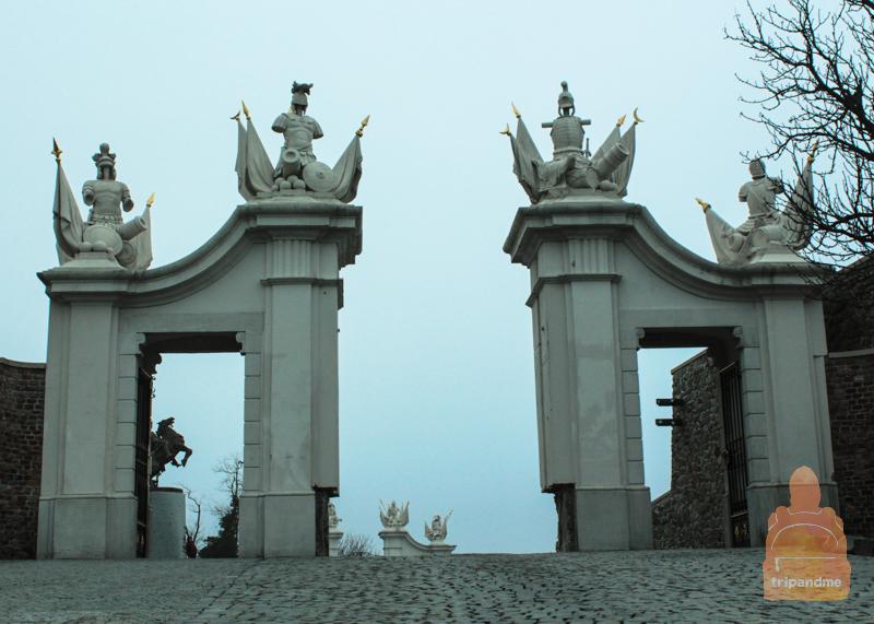 Братиславский град - фото