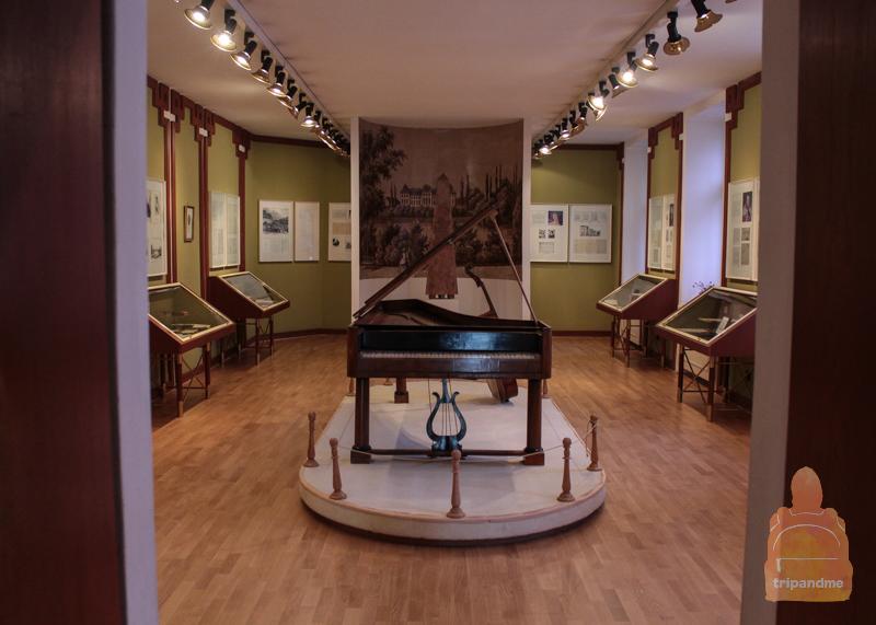 Экспонаты в музее Бетховена