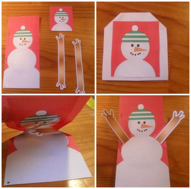 © mykidcraft  Автор блога My kid craft делала этого снеговика вместе сдетьми. Снеговик радос