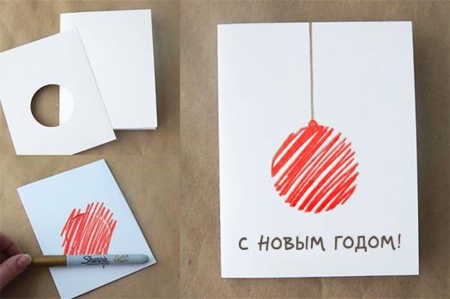 © itsalwaysautumn  Если вызабыли купить открытки, авремя поджимает, можно соорудить вот таку