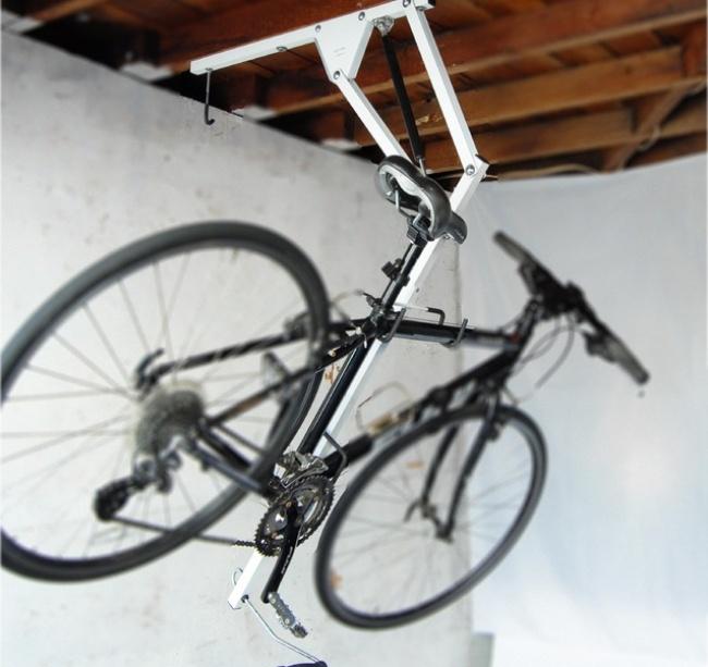 © bcd-eng  Действительно гениальное изобретение— раскладная система для хранения велосипеда п